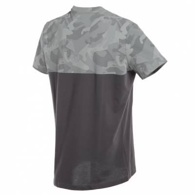 Dainese T-Shirt Camo-Tracks, anthrazit