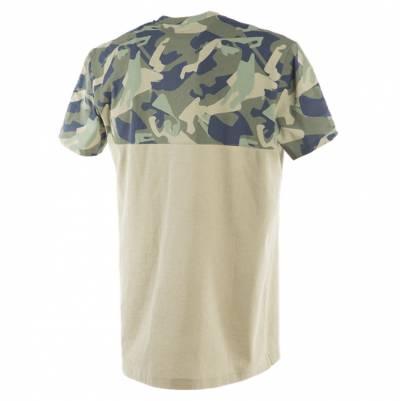 Dainese T-Shirt Camo-Tracks, camo-camel