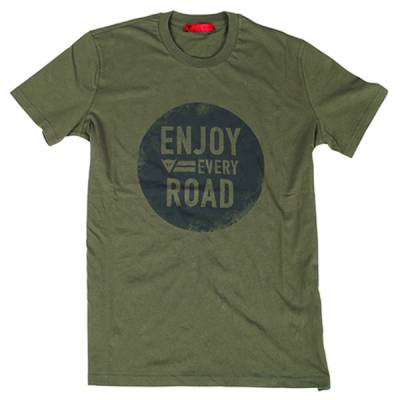 Dainese T-Shirt N`Joy, army-grün