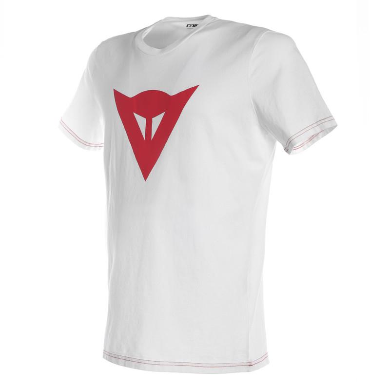 Dainese T-Shirt Speed Demon, weiß-rot