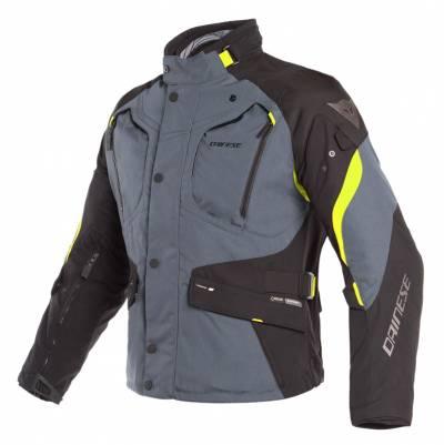 Dainese Textiljacke Dolomiti Gore-Tex®, grau-schwarz-fluogelb