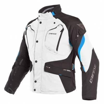 Dainese Textiljacke Dolomiti Gore-Tex®, hellgrau-schwarz-blau