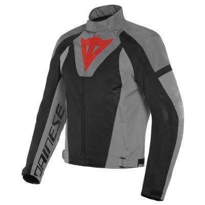 Dainese Textiljacke Levante Air Tex, schwarz-anthrazit-grau