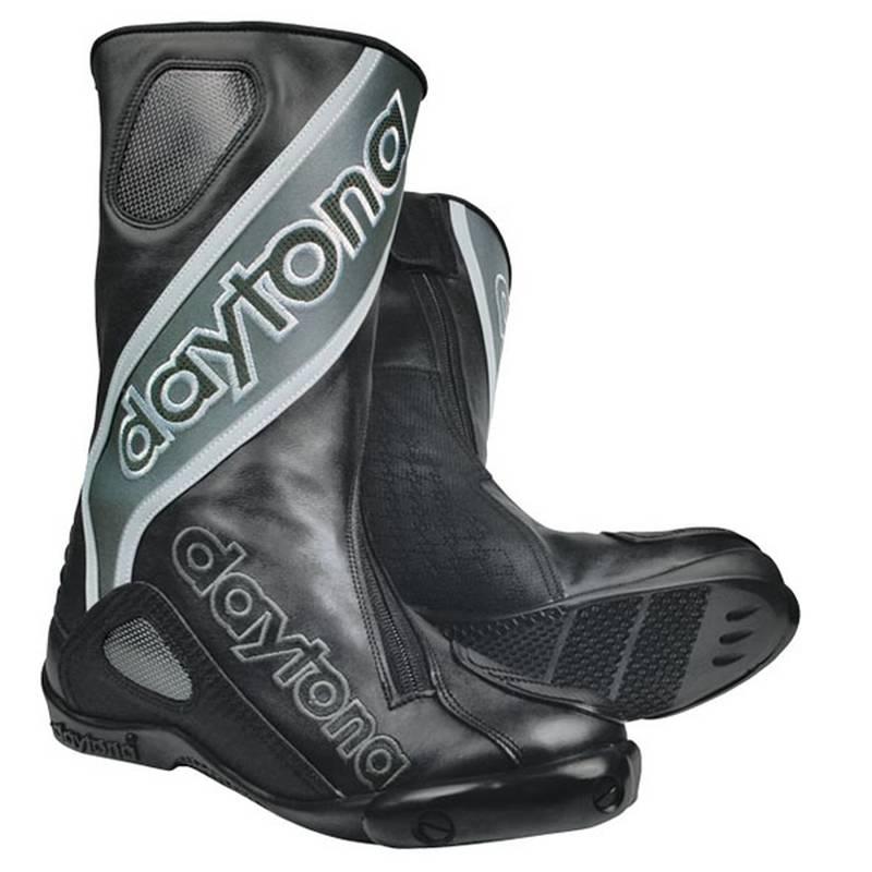 Daytona Stiefel Evo Sports Außenschuh, schwarz