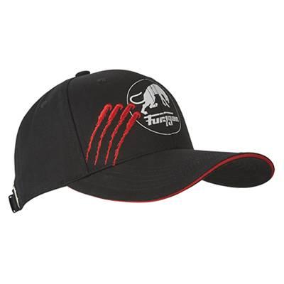 Furygan Cap Claw Evo, schwarz-rot