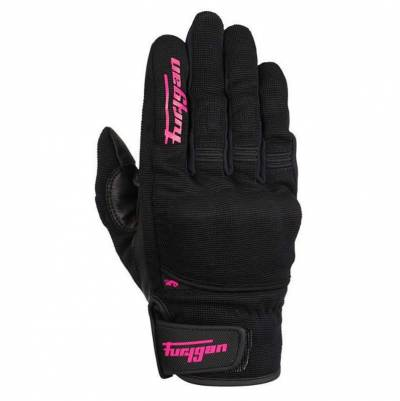 Furygan Handschuhe Jet D3O Lady, schwarz-pink