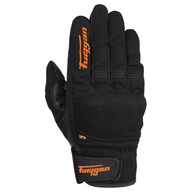 Furygan Handschuhe Jet D3O, schwarz-orange
