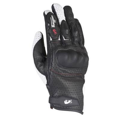 Furygan Handschuhe TD21, schwarz-weiß-rot