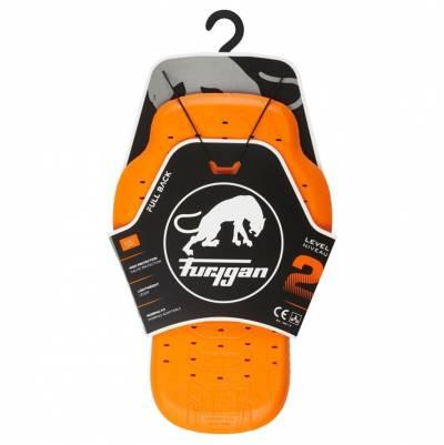 Furygan Rückenprotektor Viper2 D3O®, orange