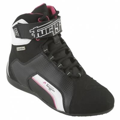 Furygan Schuhe Jet Sympatex D3O Lady, schwarz-pink