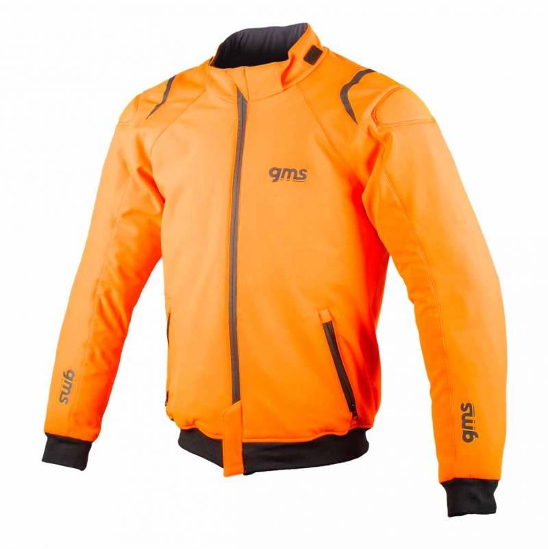 Germas GMS Textiljacke Falcon, fluo-orange