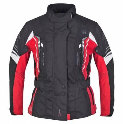 Germot Damen Jacke Xantia Pro, schwarz-rot