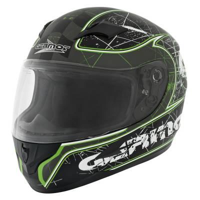 Germot Helm GM 305 Integral, matt schwarz-grün