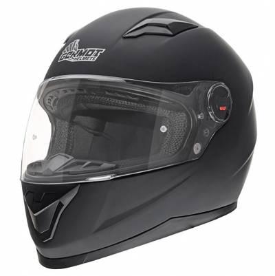 Germot Helm GM 320, schwarz-matt