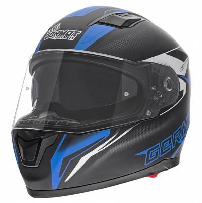 Germot Helm GM 330, schwarz-blau-matt
