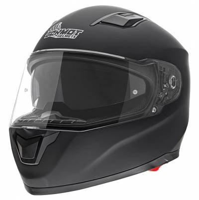 Germot Helm GM 330, schwarz-matt