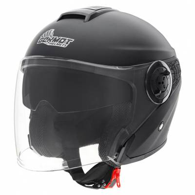 Germot Helm GM 660, schwarz-matt