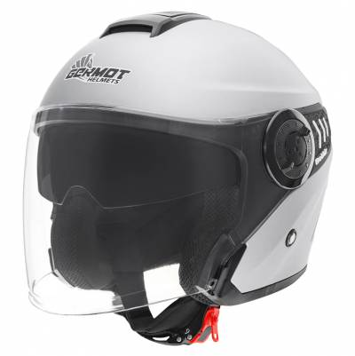 Germot Helm GM 660, silber-matt
