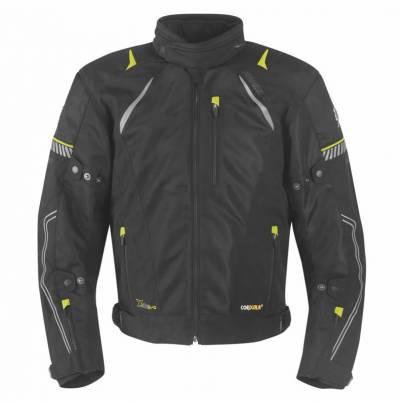 Germot Herren-Jacke X-Air Evo Pro, schwarz-fluogelb