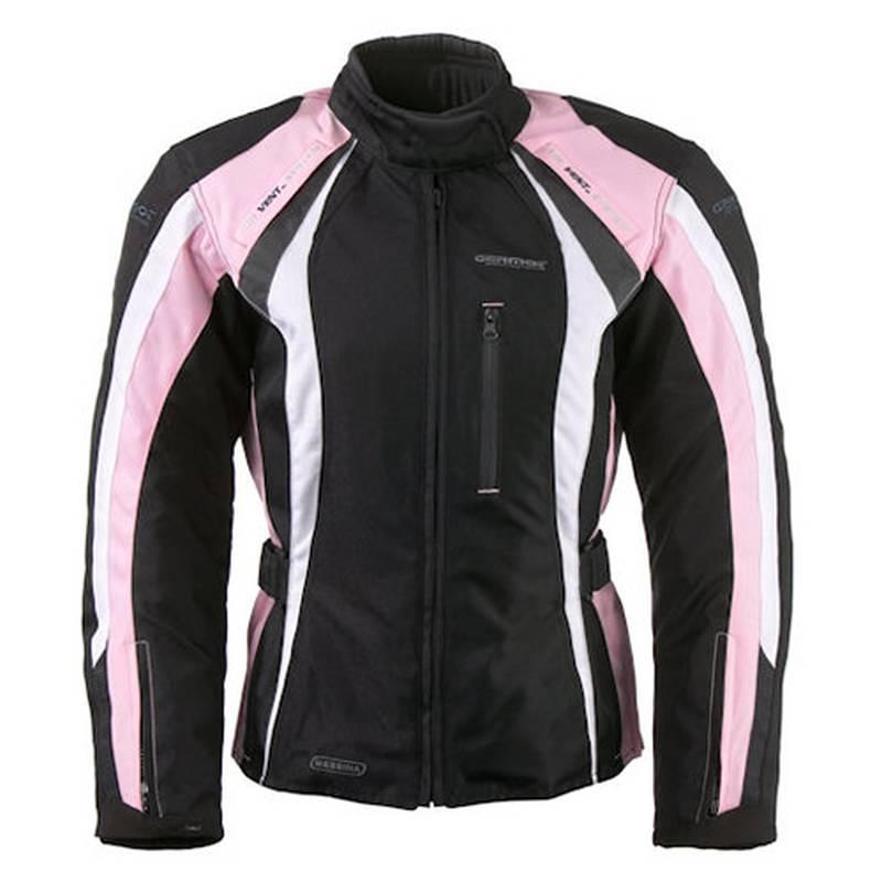 Germot Jacke Messina, schwarz-rosa