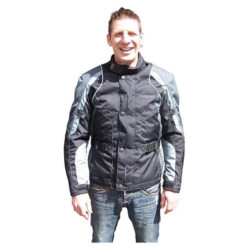 Germot Jacke Riva, schwarz-silber