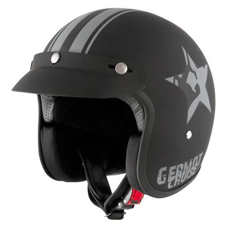 Germot Jethelm GM 77 Star, matt schwarz-grau