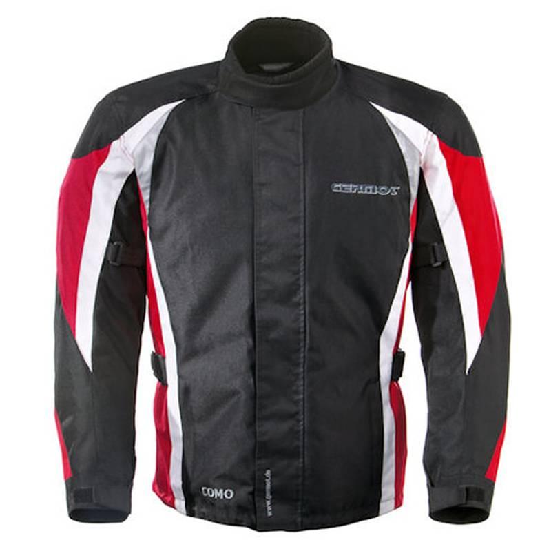 Germot Textiljacke Como, schwarz-rot