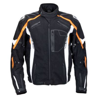 Germot Textiljacke Eagle, schwarz-orange