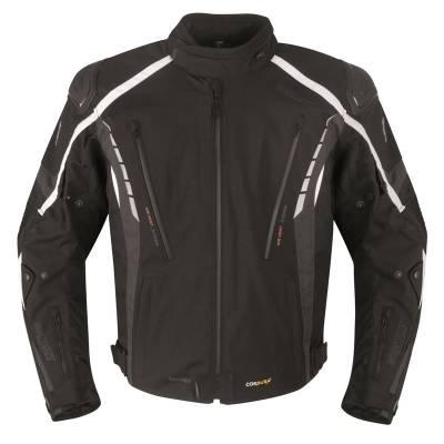Germot Textiljacke Sportage, schwarz-grau