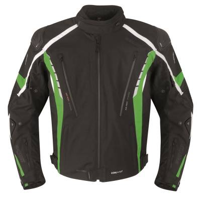 Germot Textiljacke Sportage, schwarz-grün