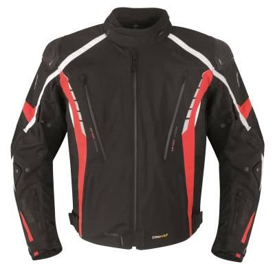 Germot Textiljacke Sportage, schwarz-rot