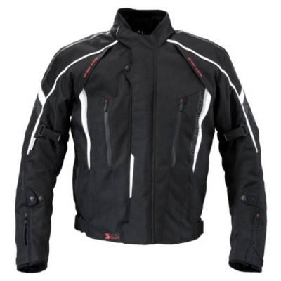 Germot Textiljacke Supersport, schwarz-grau