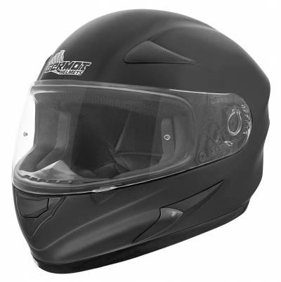 Germot Übergrößen Helm GM 720, schwarz-matt