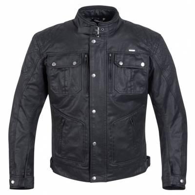 Germot Wachsjacke Rider, schwarz