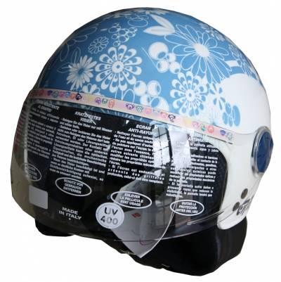 Grex B-Ware - Helm G01 Youth F. #13, weiß-blau