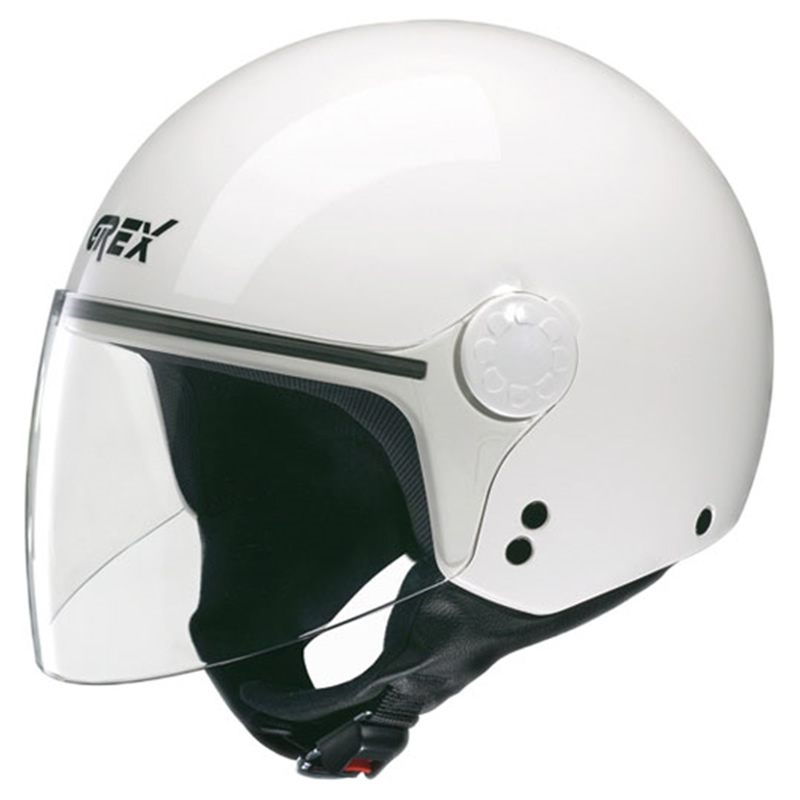Grex Helm DJ1 Visor One #52, weiß
