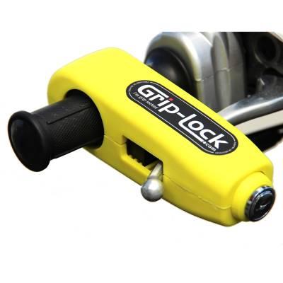 Grip-Lock Bremshebelschloß, gelb