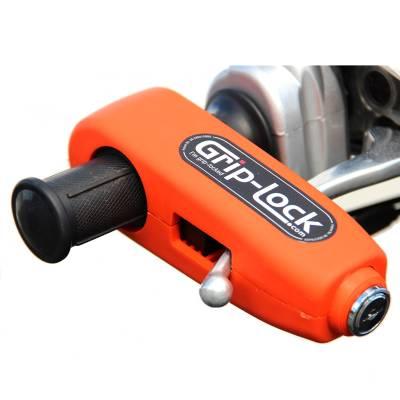 Grip-Lock Bremshebelschloß, orange