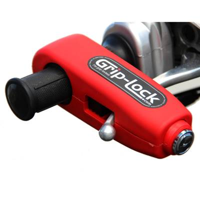 Grip-Lock Bremshebelschloß, rot