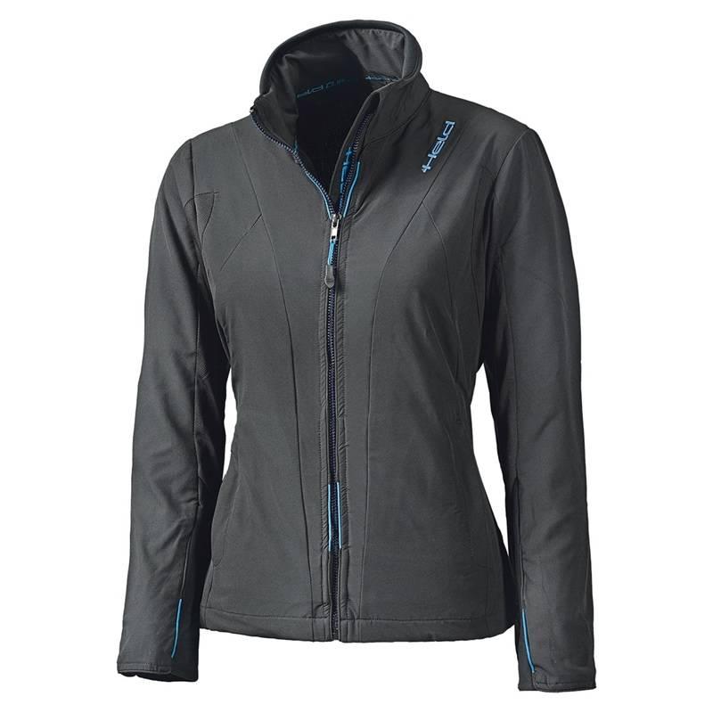 Held Damen Jacke Clip-In Windblocker Top, schwarz
