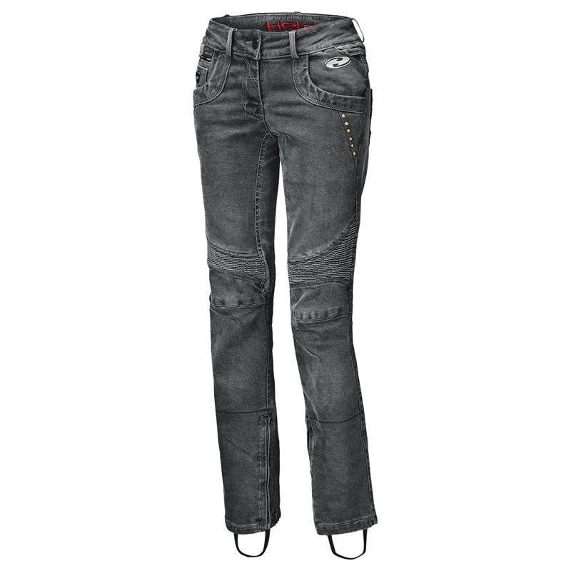 Held Damen Jeans Road Queen, schwarz