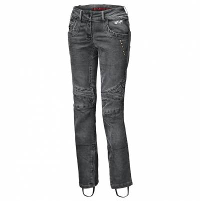 Held Damen Jeans Road Queen, schwarz