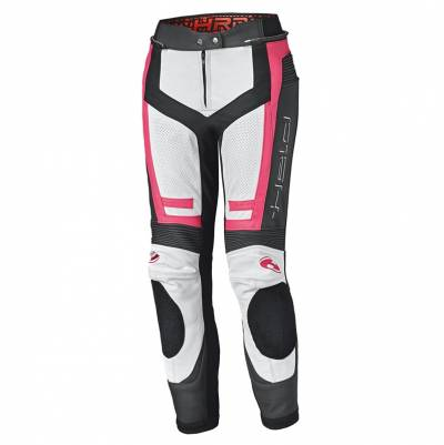 Held Damen Lederhose Rocket 3.0 - weiß-pink