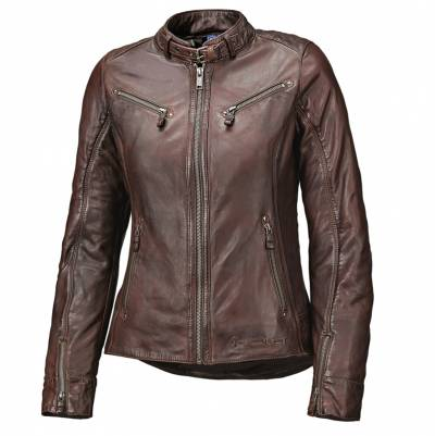 Held Damen Lederjacke Sabira, chocolate