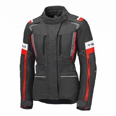 Held Damen Textiljacke 4-Touring II, schwarz-rot