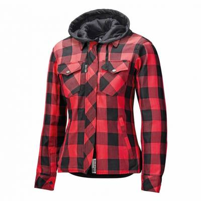 Held Damen Textiljacke Lumberjack II, schwarz-rot