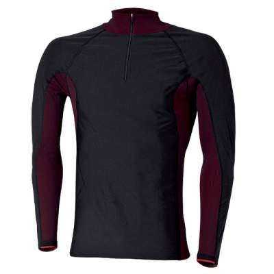 Held Funktionshemd  Windblocker Skin, schwarz-rot