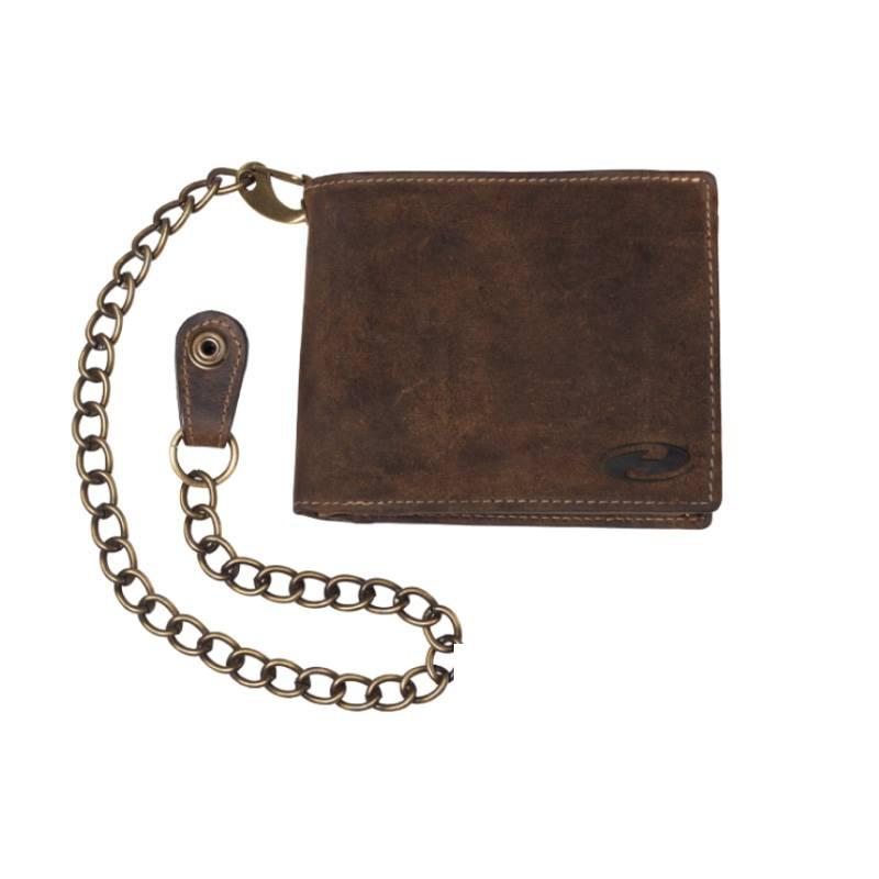 Held Geldbörse mit Chromkette