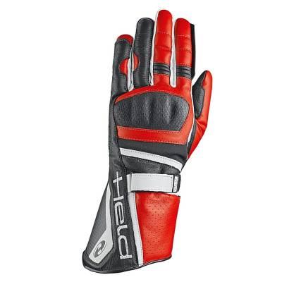 Held Handschuh Akira Evo, schwarz-rot