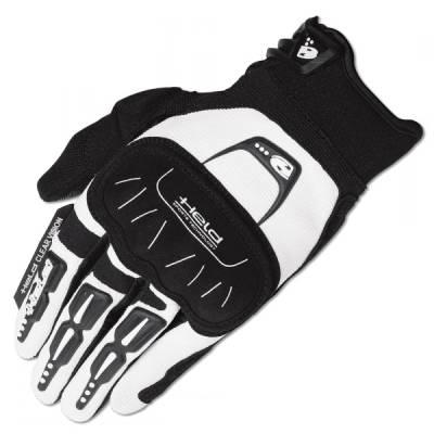 Held Handschuh Backflip, weiß-schwarz